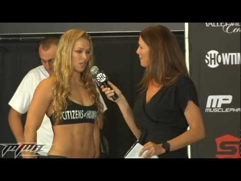 Rousey vs. Kaufman Weigh-In Video Highlights