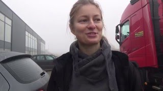 Trucking Girl - SCANIA - załadunek, SCANIA loading ep. 38