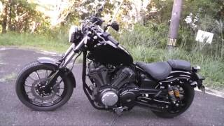 getlinkyoutube.com-YAMAHA BOLT XVS950CU (1) ROADSTARから乗り換えました