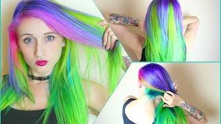 getlinkyoutube.com-✖ Mystic Alien Hair Dye Tutorial ✖