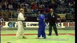 getlinkyoutube.com-Judo EC 1996: Giungi (ITA) - Rendle (GBR)