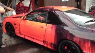 getlinkyoutube.com-NEW Heat Sensitive Color Changing Kandy Automotive Paint - World's First All Over Job