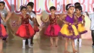 Chan Kiti Disate Fulpakharu - HD English Medium School Gathering Dance - 2013-14