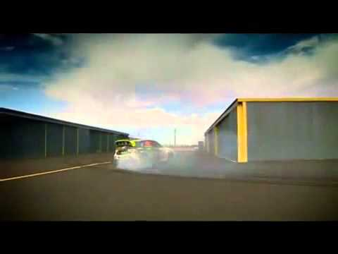 Top Gear - Ken Block Airfield Rallying -YfdIDLql0wU
