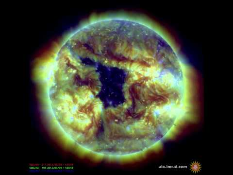 NASA SDO - Coronal Hole (May 28 - 31, 2013)