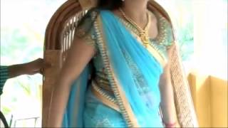 getlinkyoutube.com-Navya Nair Hot Navel Show while in Interview