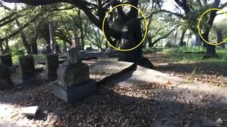 Haunted Satanic Cemetery Real Demonic Activity