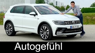 getlinkyoutube.com-VW Volkswagen Tiguan R-Line FULL REVIEW 240 hp BiTurbo TDI test driven