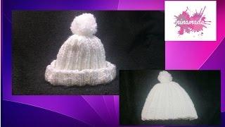 getlinkyoutube.com-DIY.Comment faire un bonnet en laine.