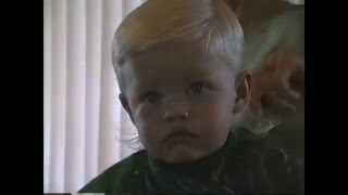 getlinkyoutube.com-Kyle's First Haircut - May 1995