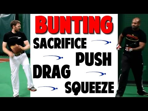 Baseball Bunting Series | How To: Bunt Types | Video 3 of 3 (Pro Speed Baseball)