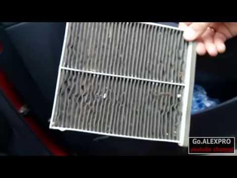 Где находится воздушный фильтр у Мазда ЦХ-5