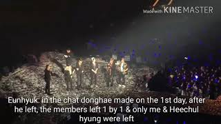 [ENGSUB] SS7 Donghae made group chat and left - Attention Seeker