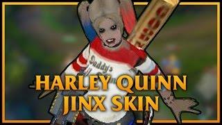玩家自製SKIN-JINX-自殺突擊隊Harley Quinn