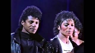 getlinkyoutube.com-The Jacksons - [17] Shake Your Body | Victory Tour Toronto 1984