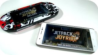 PS Vita vs Android Gaming - Jetpack Joyride Deluxe!