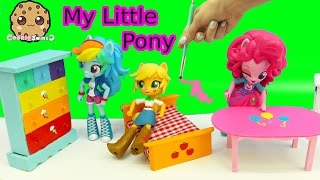 getlinkyoutube.com-Dollar Tree Doll House Furniture My Little Pony Inspired Painting Craft Video