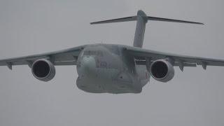 getlinkyoutube.com-C-2 量産初号機(領収飛行試験)ローパス&着陸・岐阜2016.06.12