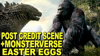Kong Skull Island Post Credits Scene Explained And Monsterverse Easter Eggs And References
