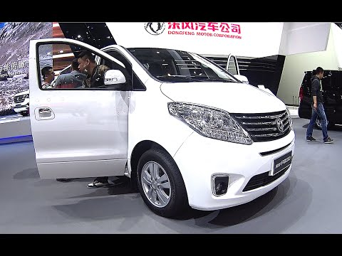 2016, 2017 Dongfeng Fengxing F600 MPV, made by Dongfeng Motor, New Chinese VAN for 30000$