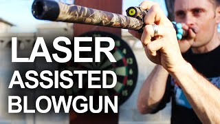 getlinkyoutube.com-How To Make A Laser Assisted Blowgun