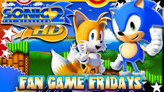 getlinkyoutube.com-Fan Game Fridays - Sonic 2 HD Remake - Debug, Secrets, & More