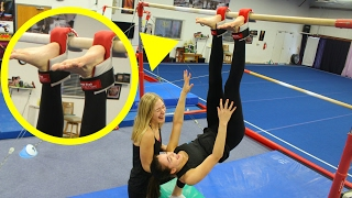 getlinkyoutube.com-Testing WEIRD Gymnastics Products!