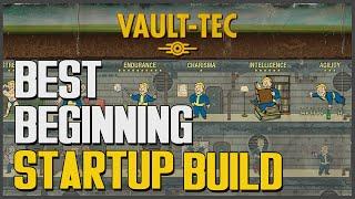 getlinkyoutube.com-Fallout 4: BEST Beginning Starter Build (Specials & Perks - TANK!)