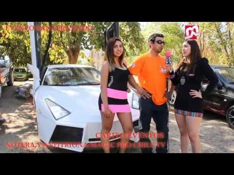 MAGIC PRO CHILE TV CUBRIENDO EVENTO TUNING SAN FERNANDO