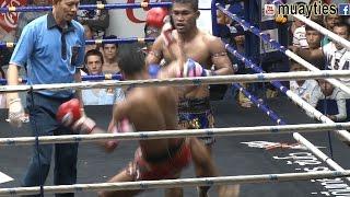 Muay Thai - Seksan vs Rotlek (เสกสรร vs รถเหล็ก), Rajadamnern Stadium,Bangkok, 22.2.17