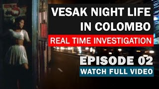 Vesak Night Life in Colombo 2017