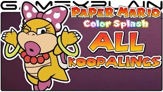 getlinkyoutube.com-All Koopaling Boss Fights in Paper Mario: Color Splash