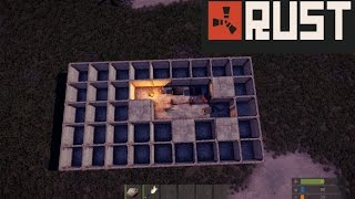 getlinkyoutube.com-Rust Base Tips: Honeycombs, airlocks, & elevators
