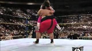 Wrestlemania 10: Bret Hart vs Yokozuna