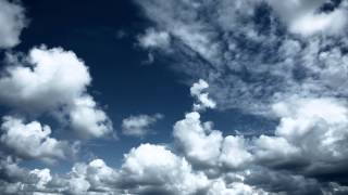 getlinkyoutube.com-Sky with clouds. Relaxing background.