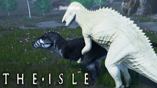 getlinkyoutube.com-The Isle - Fighting Raptor Pack & Trex as Gallimimus, Shantungosaurus - Ep3 (Early Access Gameplay)