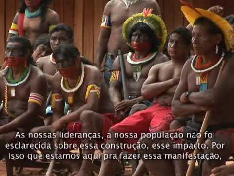 Povos do Xingu contra a construção de Belo Monte