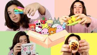 getlinkyoutube.com-Unboxing de la kawaii box de noviembre y sorteo