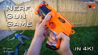 getlinkyoutube.com-Nerf meets Call of Duty: Gun Game | First Person in 4K!