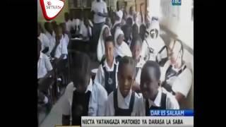 NECTA Yatangaza Matokeo Darasa la Saba