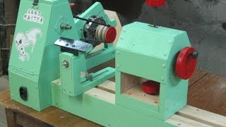 Токарный станок своими руками Part 3/3. The homemade lathe