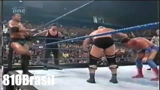 getlinkyoutube.com-WWE SmackDown 2001 - Stone Cold,The Undertaker And The Rock Vs Kane,Kurt Angle And Rikishi