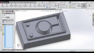 getlinkyoutube.com-Modelado y maquinado de un molde en Mastercam for Solidworks