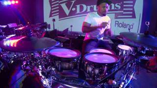 getlinkyoutube.com-Tony Royster Jr. crazy metronome practice with the TD-30.
