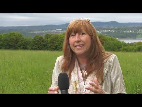 Caroline Desbiens présente ses engagements pour l'Île d'Orléans