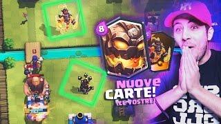 getlinkyoutube.com-NUOVE CARTE! TOP 10 CARTE degli ISCRITTI - IL GIGANTE LAVICO!! Clash Royale