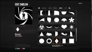 getlinkyoutube.com-James Bond Emblem Tutorial (Day 4 of 25 Days of Christmas)