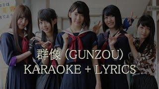 getlinkyoutube.com-群像- Gunzou - AKB48 (KARAOKE with lyrics) - マジすか学園5 - Majisuka Gakuen 5
