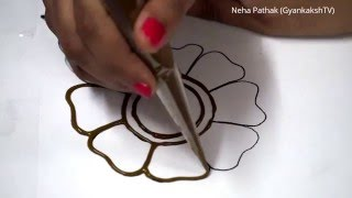 Basic Mehendi Design - 1 by Neha Pathak (GyankakshTV)