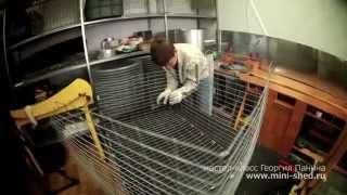 getlinkyoutube.com-Кролики клетки МАСТЕР